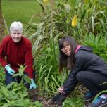 Volunteering in the Gardens